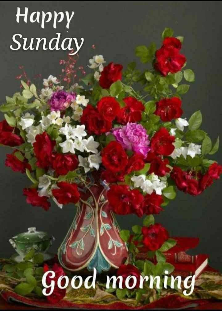 Happy sunday ❤️ - Happy Sunday Good morning - ShareChat
