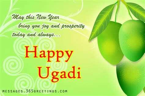 happy yugadi - May this New Year bring you joy and prosperity today and always . . . Happy © Ugadi MESSAGES . 365GREETINGS . COM - ShareChat