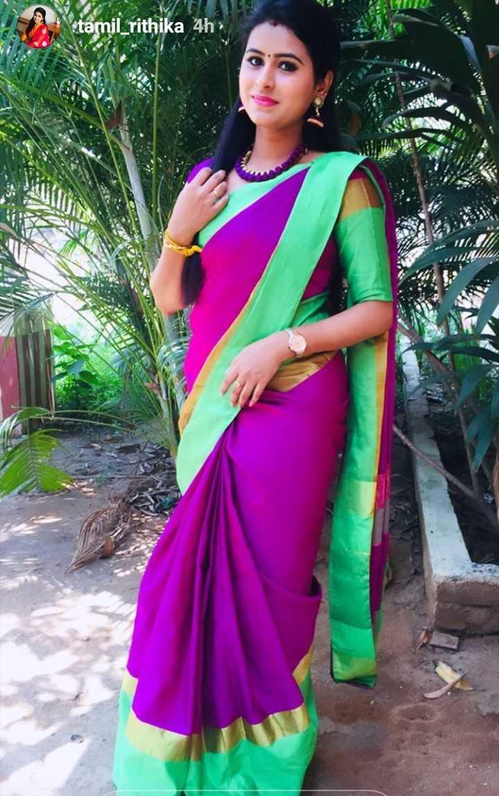 heroine - tamil _ rithika 4h - ShareChat