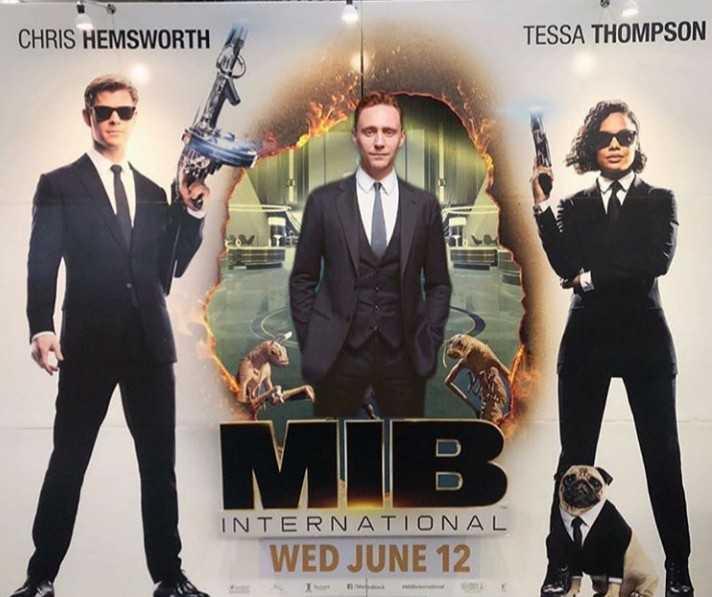 hollywood fan's - CHRIS HEMSWORTH TESSA THOMPSON INTERNATIONAL WED JUNE 12 - ShareChat
