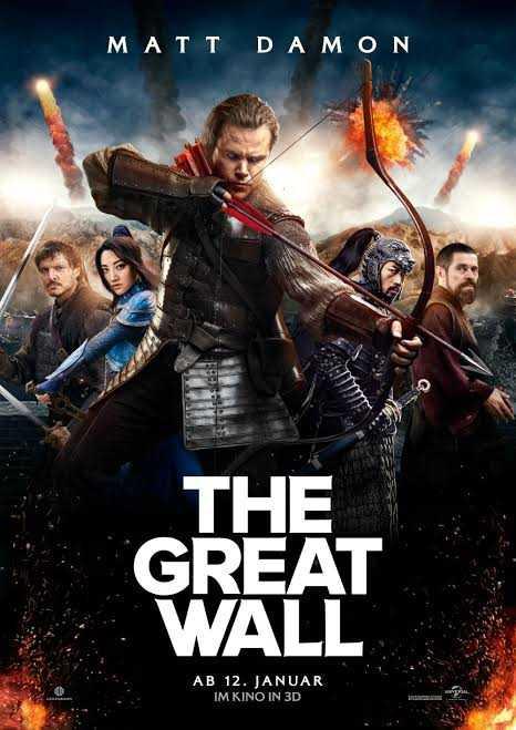 hollywood movie - MATT DAMON THE GREAT WALL AB 12 . JANUAR IM KINO IN 3D - ShareChat