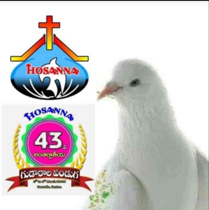 hosanna ministries - HOSANNA RAOSANNA 43 . అంతర్జాతీయ , గుడారాల పండుగ అటు 80 - ShareChat