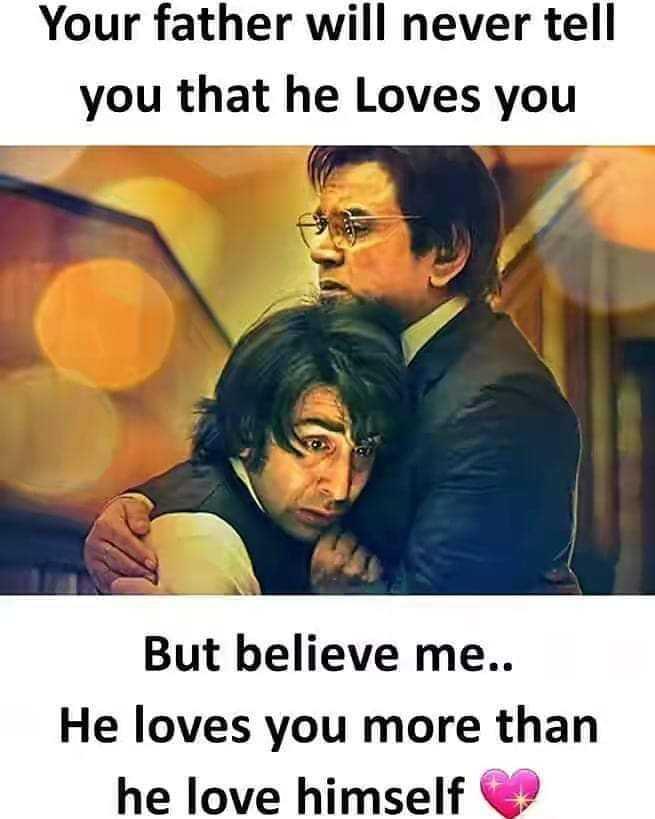 i❤️💗❤️u appa - Your father will never tell you that he loves you But believe me . . He loves you more than he love himself - ShareChat