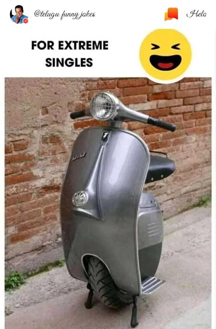 i'm single - @ telugu funny jakes Hela FOR EXTREME SINGLES - ShareChat