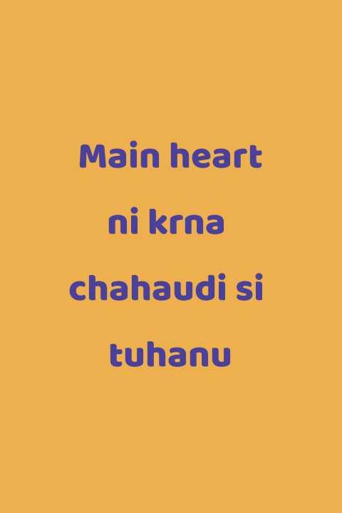 i am sorry - Main heart ni krna chahaudi si tuhanu - ShareChat
