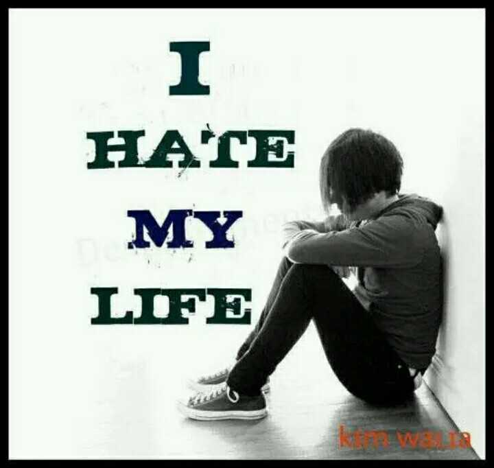 💔i hate my  life💔 - НАГЕ MY LIFE 18 - ShareChat
