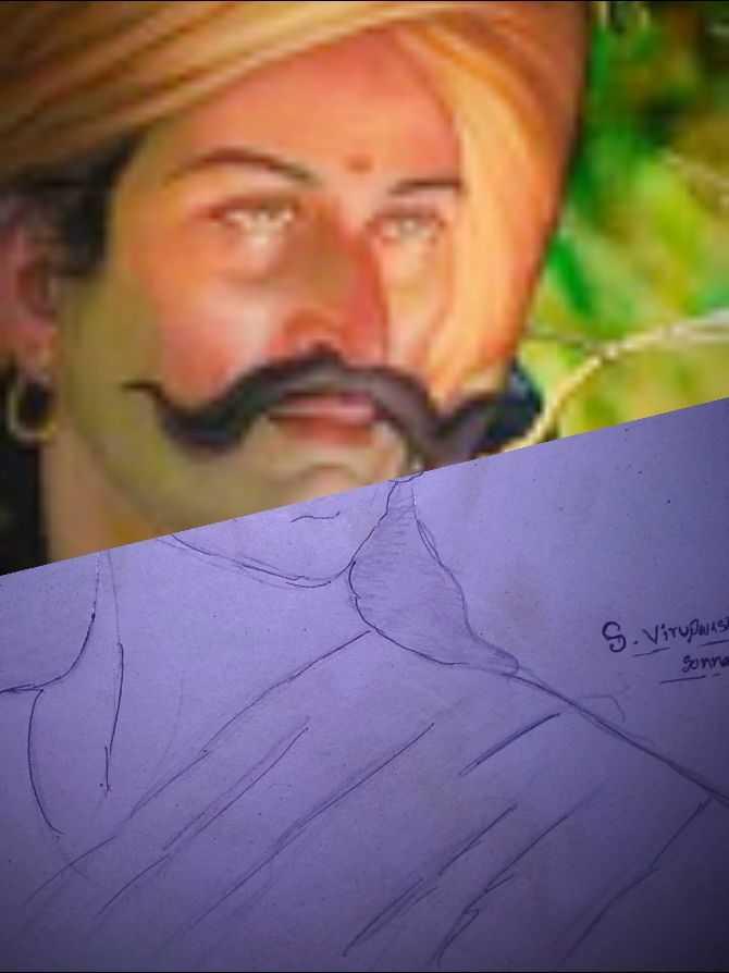 i love drawing - Sonna sredan S - ShareChat