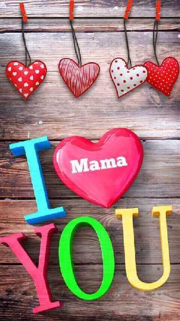 i love you - Mama VOU - ShareChat
