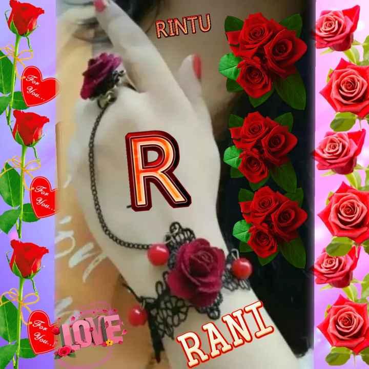 i love  you - RINTU You . . ou You RANI - ShareChat