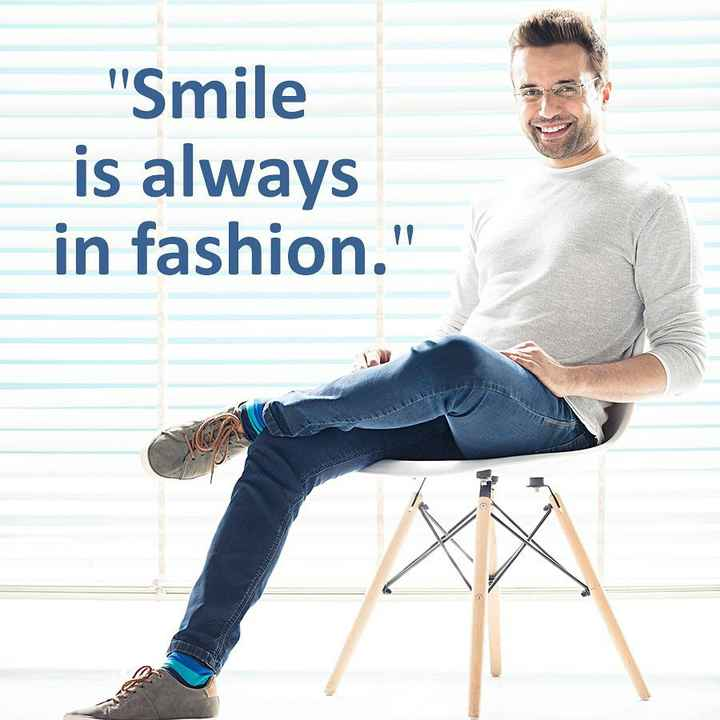 indian - Smile is always in fashion . C - ShareChat