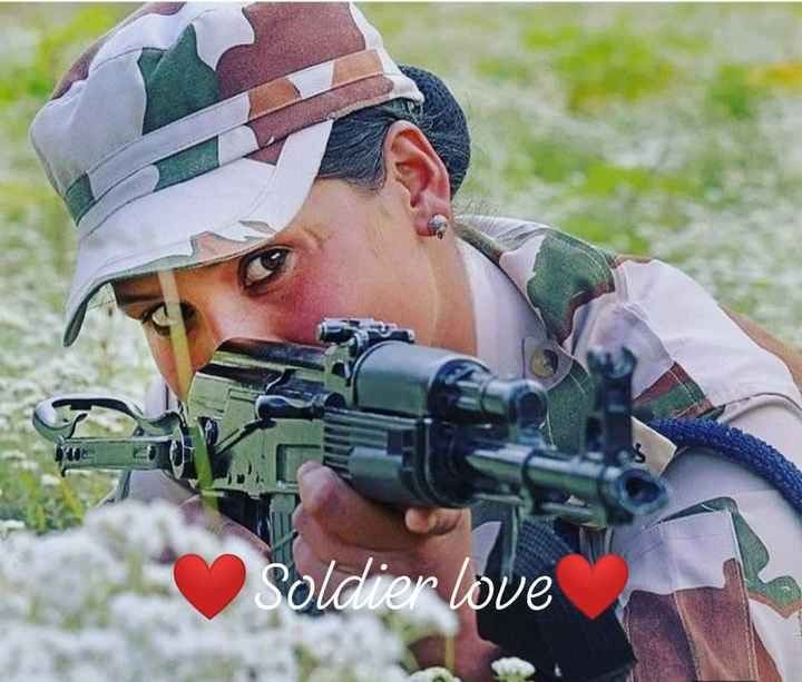 indian army - Soldier love - ShareChat