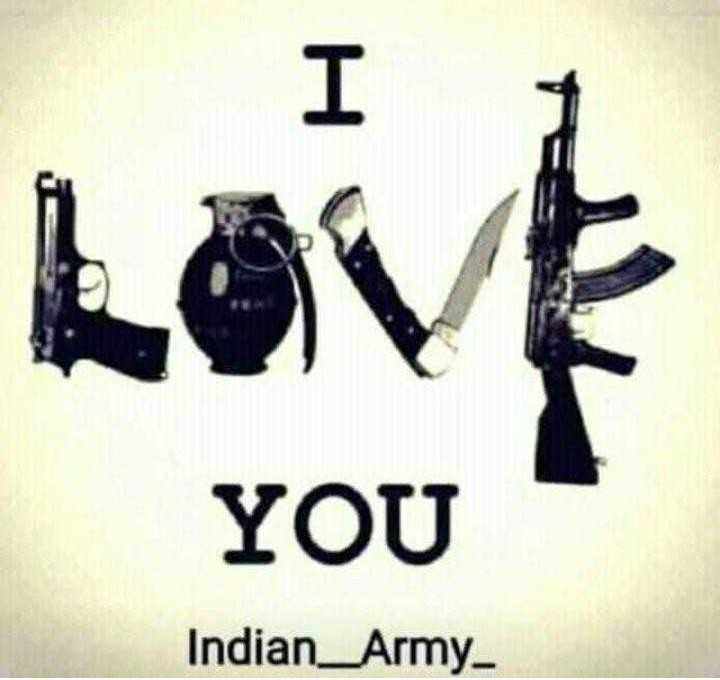 indian army - Love YOU Indian _ Army - ShareChat