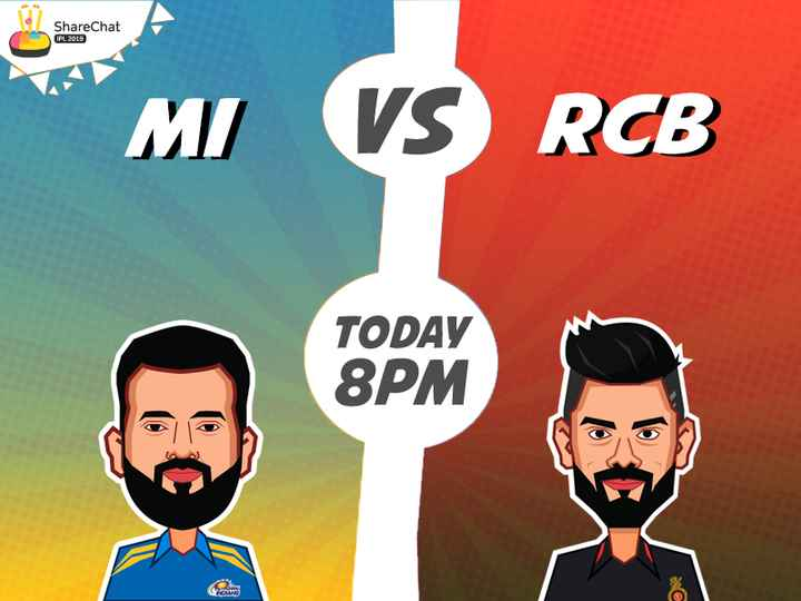 🏏 ipl 2019 - ShareChat IPL 2019 I / VS : 3 TODAY 8PM - ShareChat