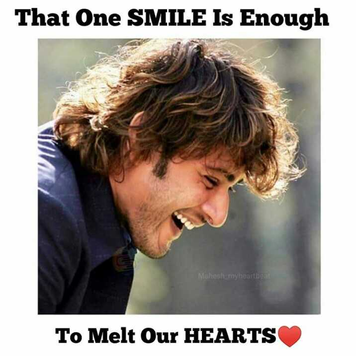 it's my thoughts 💖💖💖 - That One SMILE Is Enough Mahesh _ myheartbeat To Melt Our HEARTS - ShareChat
