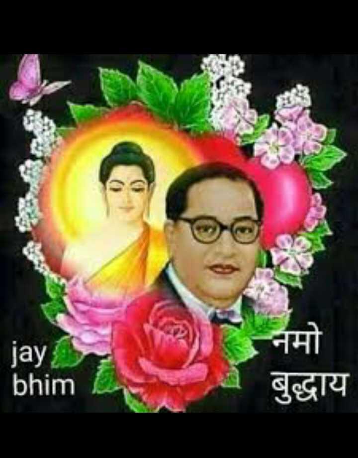 🙏jai bhim 🙏 - नमो jay bhim बुद्धाय - ShareChat