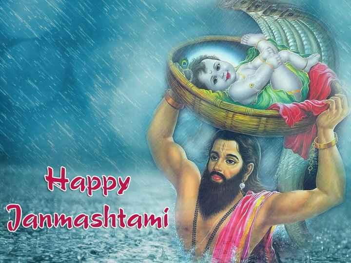 jai sri krishna 🙏🙏  happy krishn janmashtami ## 👍 - Janmashtami Happy Ergo SWESE PEPE - ShareChat