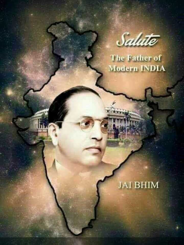 jay bh!m - Salute The Father of Modern INDIA JAI BHIM - ShareChat