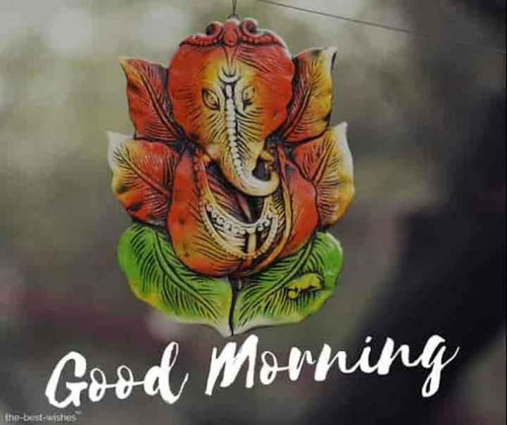 🙏🌹jay ganesha 🙏🌹 - Good Morning the - best - kasties - ShareChat