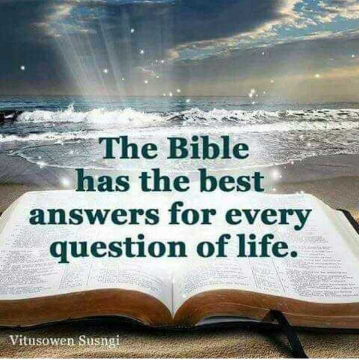 jesus christ - The Bible has the best answers for every question of life . Vitusowen Susngi - ShareChat