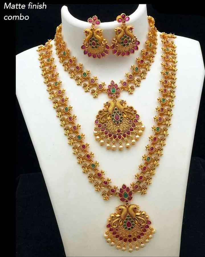 jewellery - Matte finish combo - ShareChat