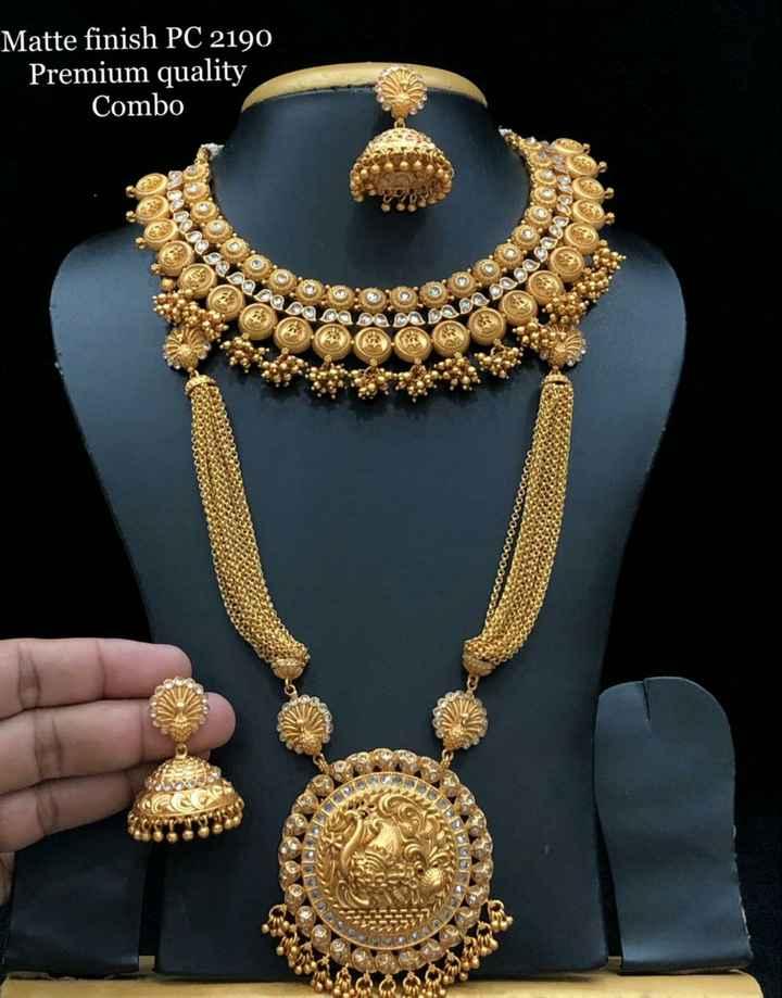 jewellery - Matte finish PC 2190 Premium quality Combo Coo0000000000 - ShareChat