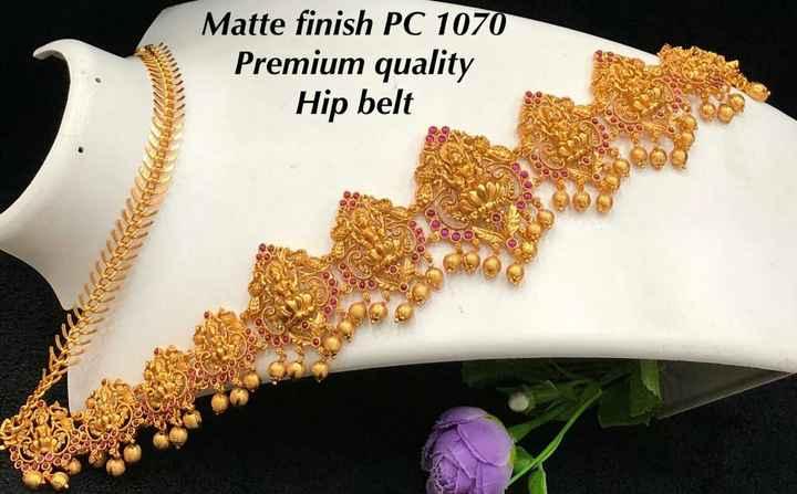 jewellery - Matte finish PC 1070 Premium quality Hip belt POO 000 - ShareChat