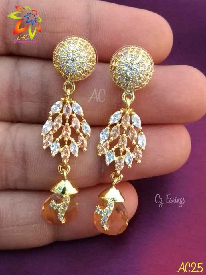 jewels - AG Cz Earings AC25 - ShareChat