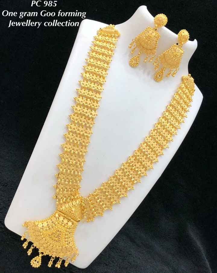 jewels - PC 985 One gram Goo forming Jewellery collection - ShareChat