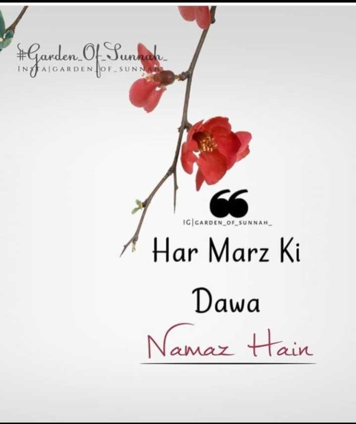 🕋jumma mubarak🕋 - # Garden Of Sunnak IN JAIGARDEN POF _ SUNNA IG CARDEN _ OF _ SUNNAH A Har Marz Ki Dawa Namaz Hain - ShareChat