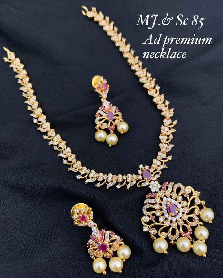 juwel - MJ . & Sc 85 Ad premium necklace - ShareChat