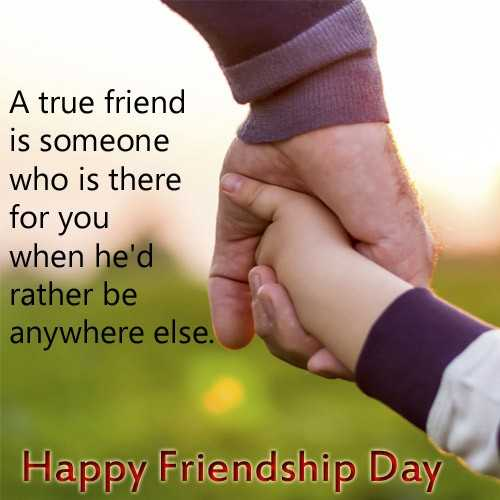 khan - A true friend is someone who is there for you when he ' d rather be anywhere else . Happy Friendship Day - ShareChat