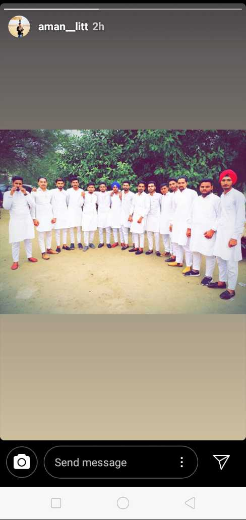 kurta pajama - aman _ litt 2h o Send message - ShareChat