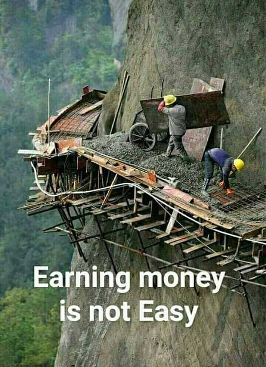 life - Earning money is not Easy - ShareChat