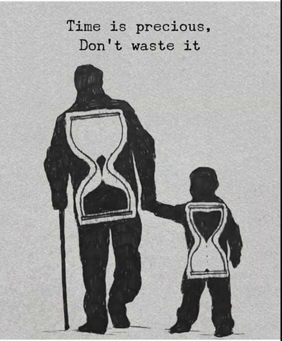 life time - Time is precious , Don ' t waste it - ShareChat