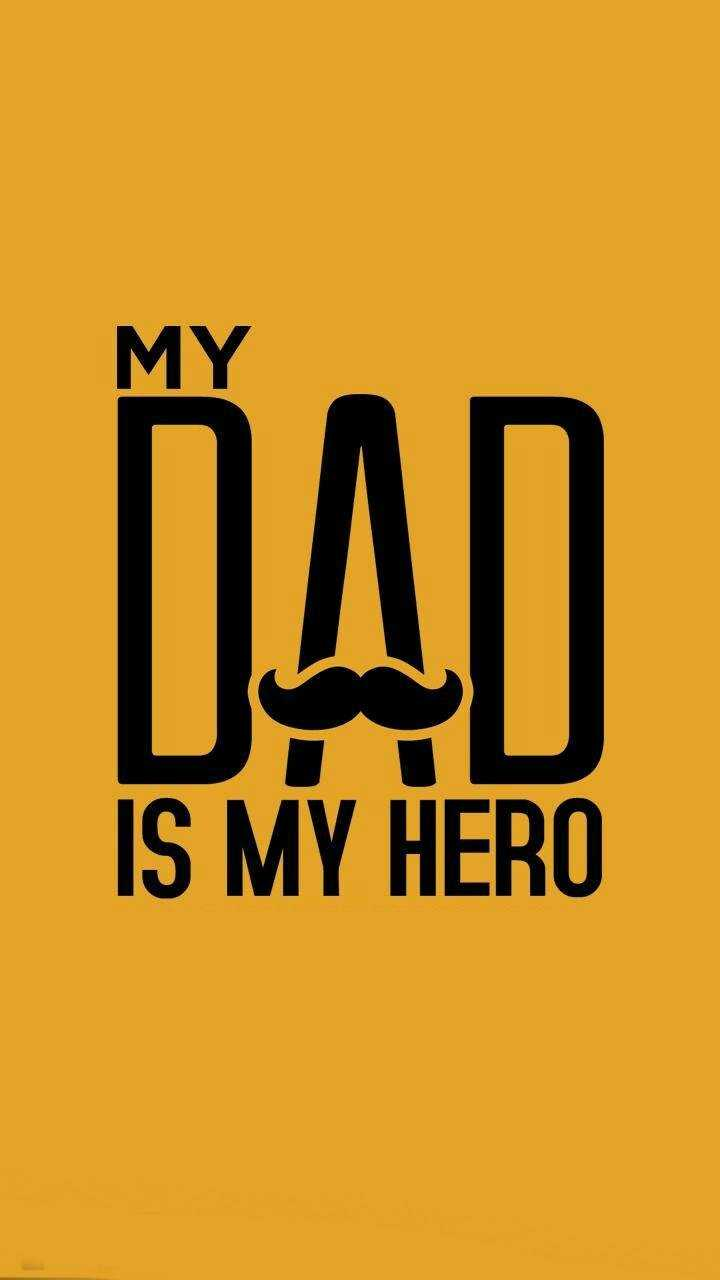 l love you papa 😘 - MY IS MY HERO - ShareChat