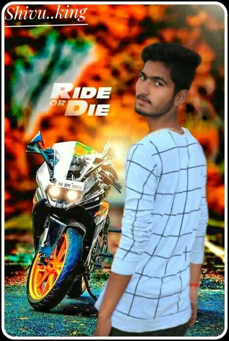 love ride - ( Shivu . . king RIDE ORN 16 AM 095 - ShareChat