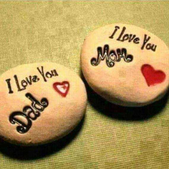 love you mom and dad - I Love You - ShareChat