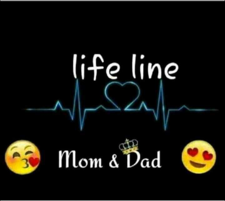 love you mom dad - life line wah Mom & Dad ☺ - ShareChat