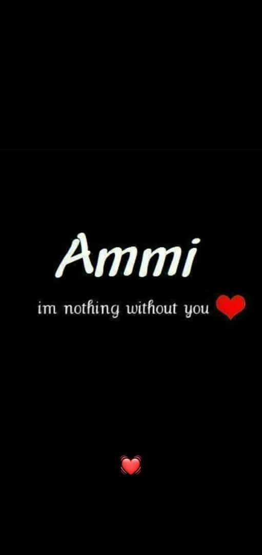 🌷l 💗 u  ammi🌷 - Ammi im nothing without you - ShareChat