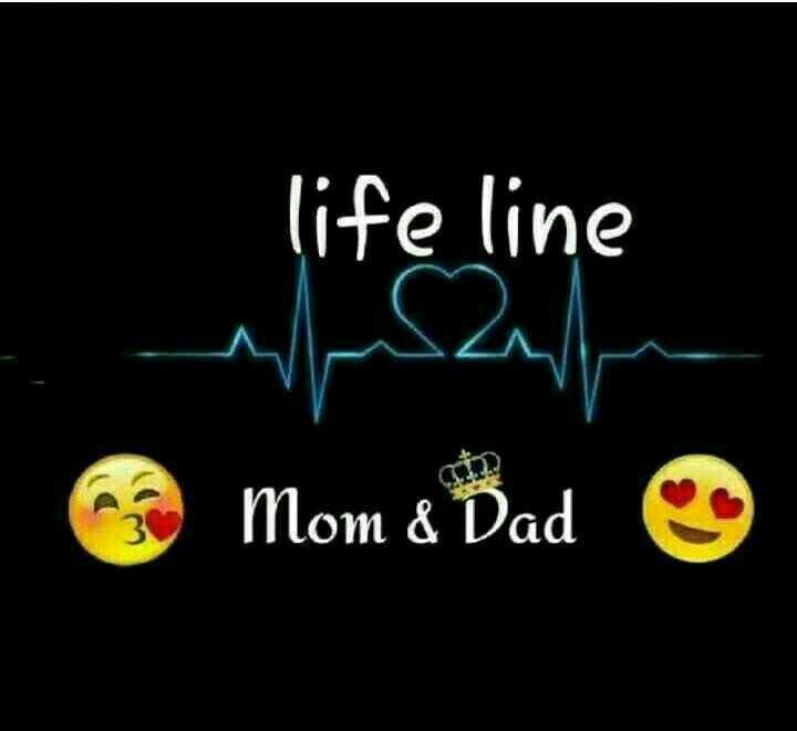 luv u mma papa - life line Mom & Dad - ShareChat