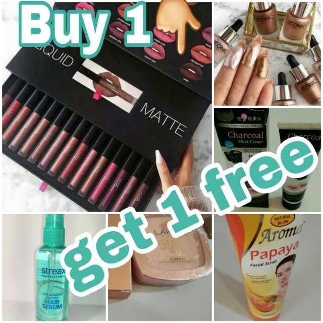 makeup - Buy 1 ICONIC ICONIC CONIC QUID MATTE Charcoal Charcoa Mask Crum NATURA get 1 free Arom Papaya Facial Scrub streax VITARIOS HAIR SERUM - ShareChat