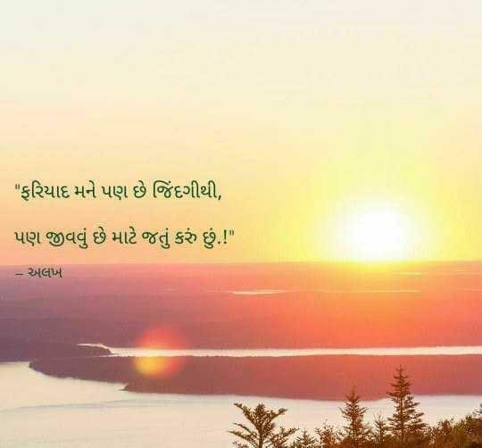 mara vicharo.....👈👈👌 - ફરિયાદ મને પણ છે જિંદગીથી , પણ જીવવું છે માટે જતું કરું છું . ! – અલખ - ShareChat