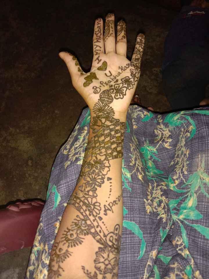 mehandi - My husband B . Prabhakaran - ShareChat