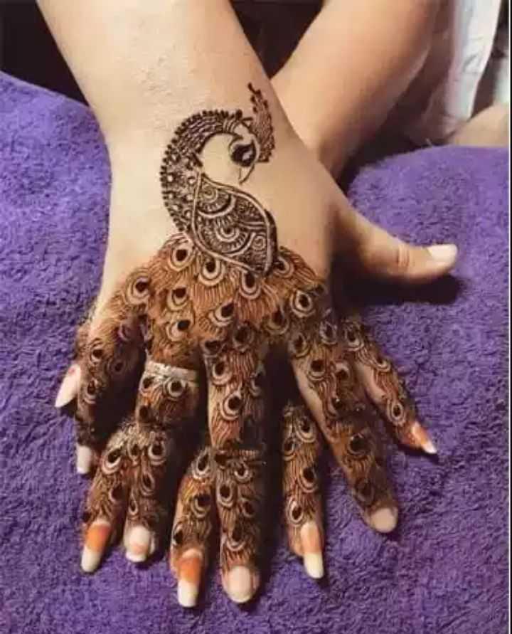 mehandi designs - ShareChat