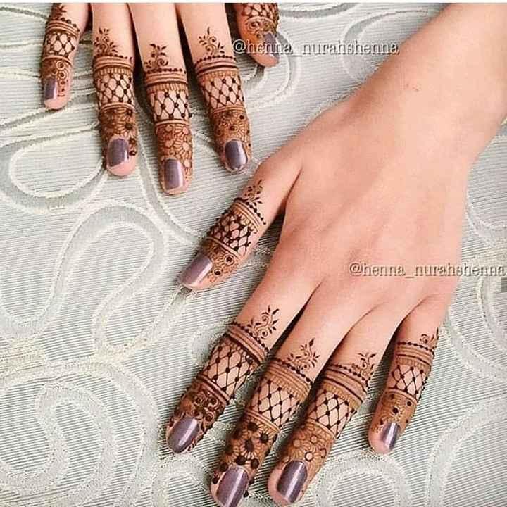 mehndi design - . @ henna nurahishenna @ henna _ nuranshemna - ShareChat