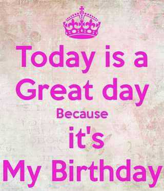 mere  bare me - Today is a Great day Because it ' s My Birthday - ShareChat