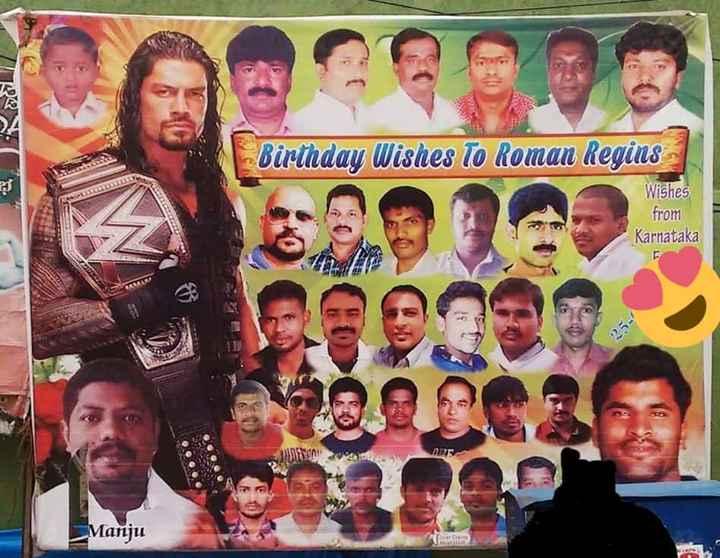 miss u roman - ROALZ Birthday Wishes To Roman Regins Wishes from Karnataka OSGB Manju - ShareChat