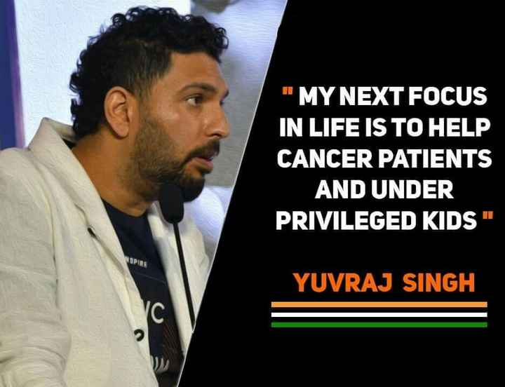 miss you youraj sing - MY NEXT FOCUS IN LIFE IS TO HELP CANCER PATIENTS AND UNDER PRIVILEGED KIDS YUVRAJ SINGH - ShareChat
