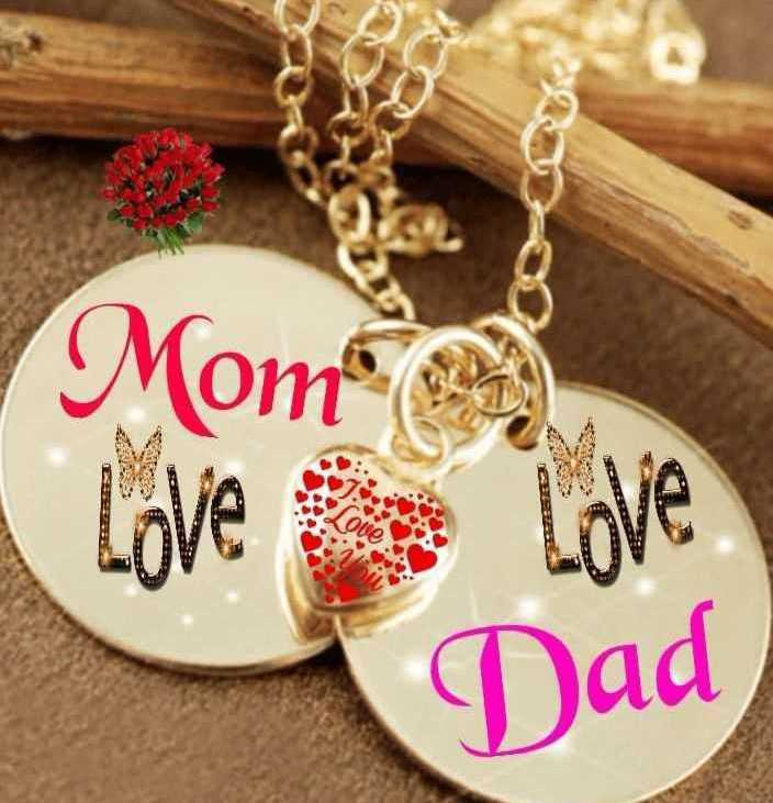 mom ded - Mom Love Love Dad - ShareChat