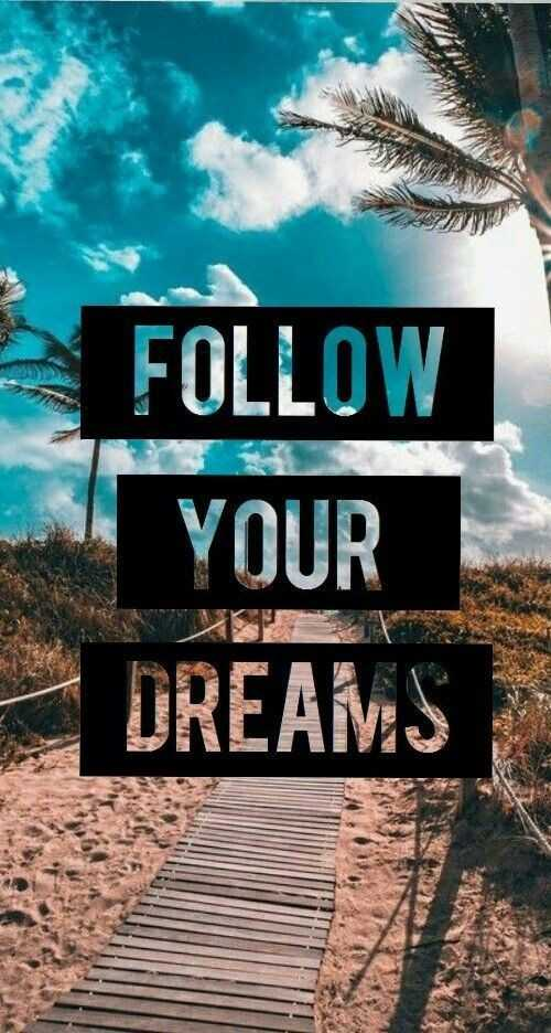 💪 motivation - FOLLOW YOUR DREAMS - ShareChat
